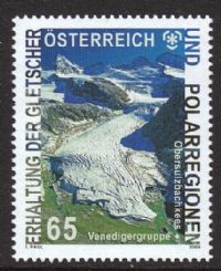 Austria 2009 Glaciers and Polar Regions 1v complete unmounted mint
